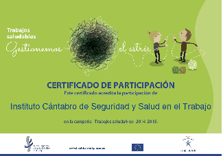 documento de certificado de participacion